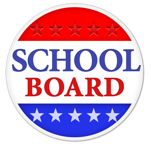 school board voting button